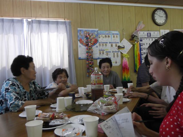 Nozomi Outreach3 - Team Tea with the Ladies - Elizabeth Ridegeway
