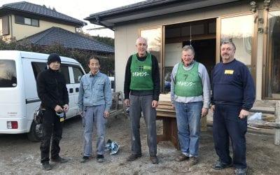 Volunteer Carpenters in Japan