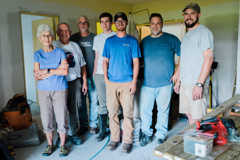 New Jersey volunteer team