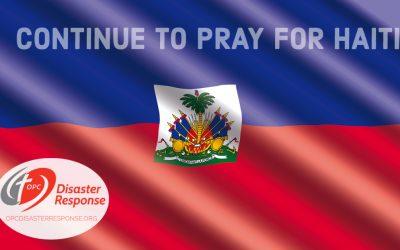 Continue to Pray for Haiti